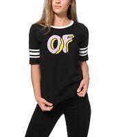 Odd Future Ofwgkta Of Donut Hockey Stripe T-shirt 100% Authentic