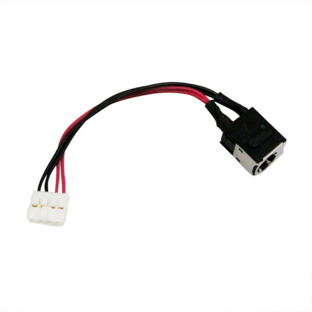 Original DC Power Jack plug in cable for TOSHIBA SATELLITE L770D PSK40U-0900Q