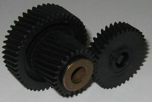 Matching-Helical-Gear-Set-40mm-46T-22mm-26T-33mm-36T-8mm-Bore-Dual-Gear