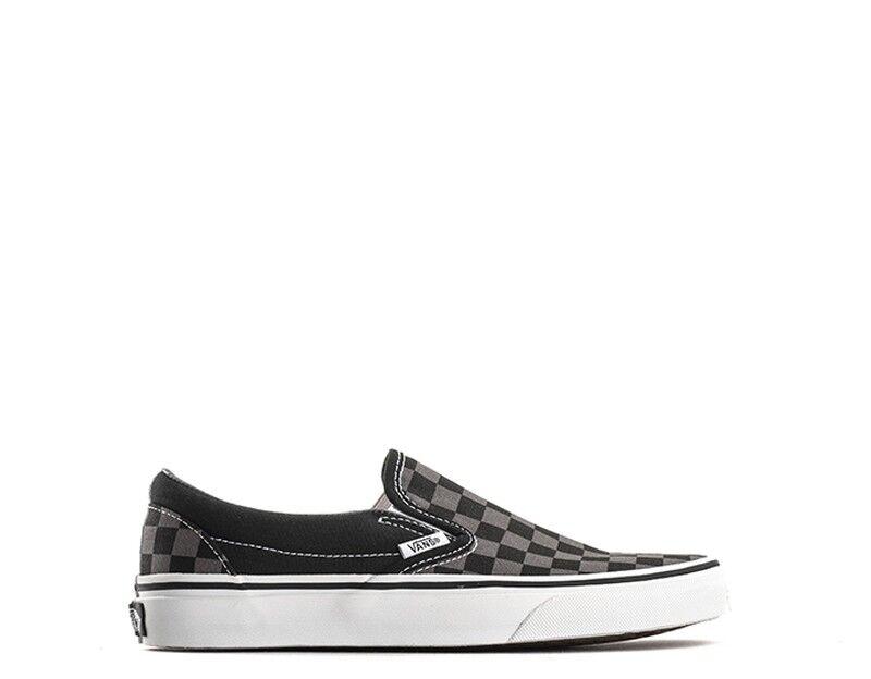 Schuhe VANS Frau schwarz grau Stoff VEYEBPJ D
