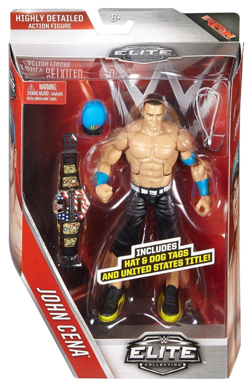 WWE ELITE JOHN CENA MATTEL SERIES 40 WRESTLING FIGURE BRAND NEW BOXED