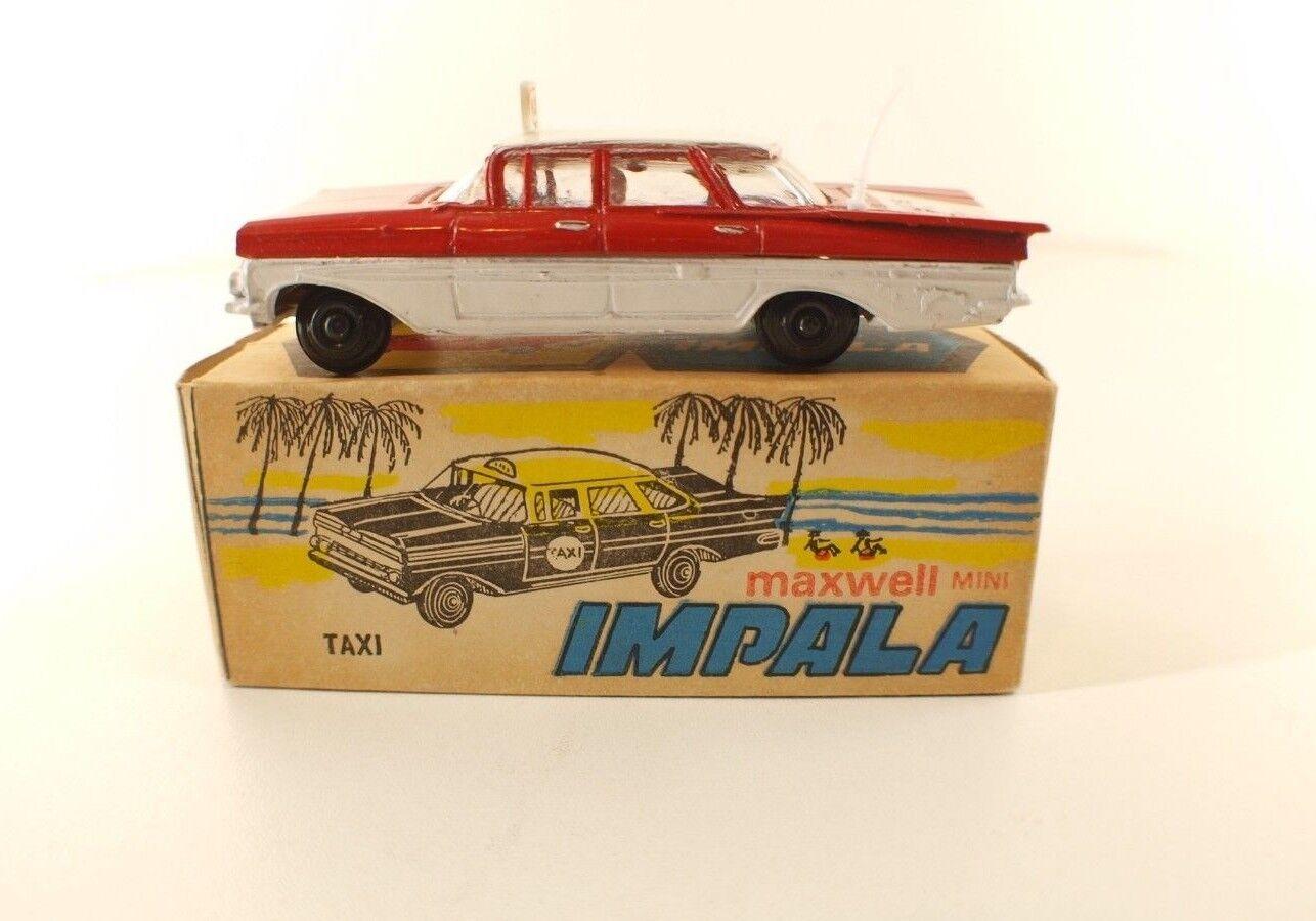 Maxwell Mini n°561• Chevrolet Impala  Police Patrol  •India• 1 43 boxed en boite