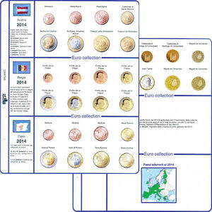 a17932b606 Master Phil Fogli di aggiornamento per serie monete Euro in annate ...
