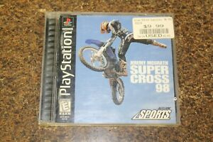 Jeremy McGrath Supercross 98 Playstation PS1 Video Game Complete