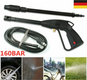 Hochdruckpistole Lanze Mit Rotordüse 5m Schlauch Für Hochdruckreiniger 160 Bar