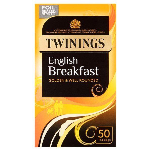 Twinings Thé petit déjeuner anglais sacs - Bien arrondie - Quantité 600 (1 x