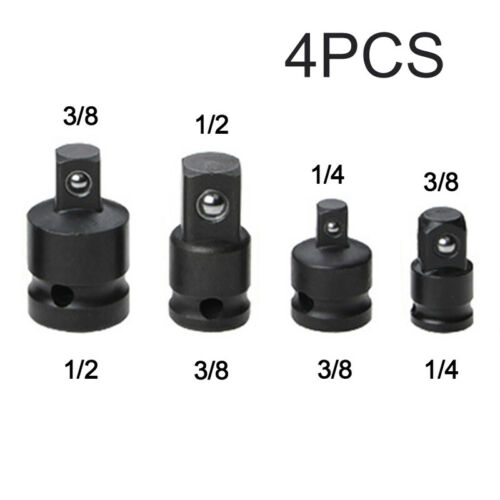 1//4 3//8 1//2 Impact Socket Adapters Converter Ratchet Wrench Reducer Drive Kits
