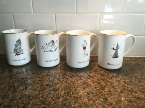 Merry Masterpieces International Collection 4 Mug Designs