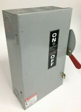Ge Tgn3322 Non Fused Indoor Safety Switch Disconnect 60a 3p 3w 240vacdc 15hp