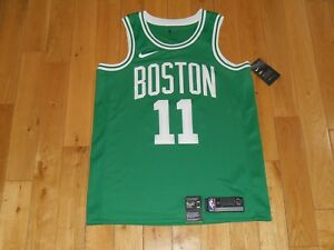 New Nike KYRIE IRVING Green BOSTON CELTICS  11 Mens NBA Team ... 745b2e14b