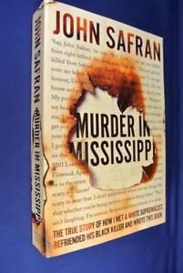 MURDER-IN-MISSISSIPPI-John-Safran-USA-WHITE-SUPREMACIST-MURDER-True-Crime-Lge-Pb