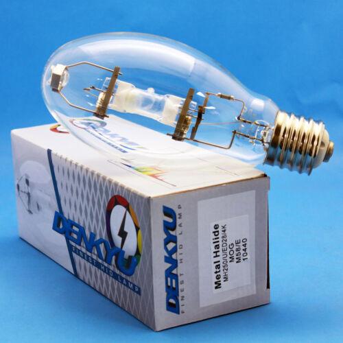 MH250//U//4K//ED28 DENKYU 10440 250W Metal Halide Lamp MOG M58//E Bulb 12