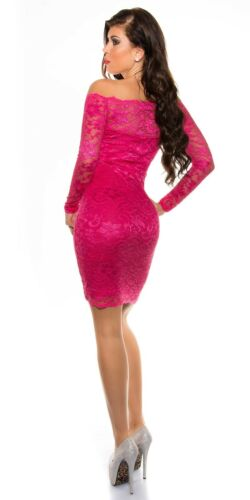 Elegant Koucla Cocktail  Kleid Party Minikleid Abendkleid  Spitze