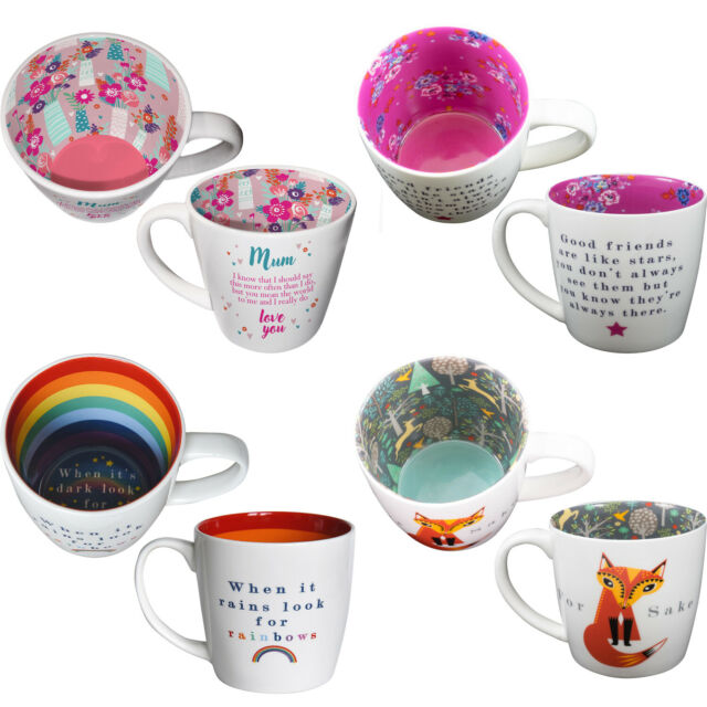 Quicksilver Gift Boxed Mug Friends Are Like Flowers Blooming Lovely