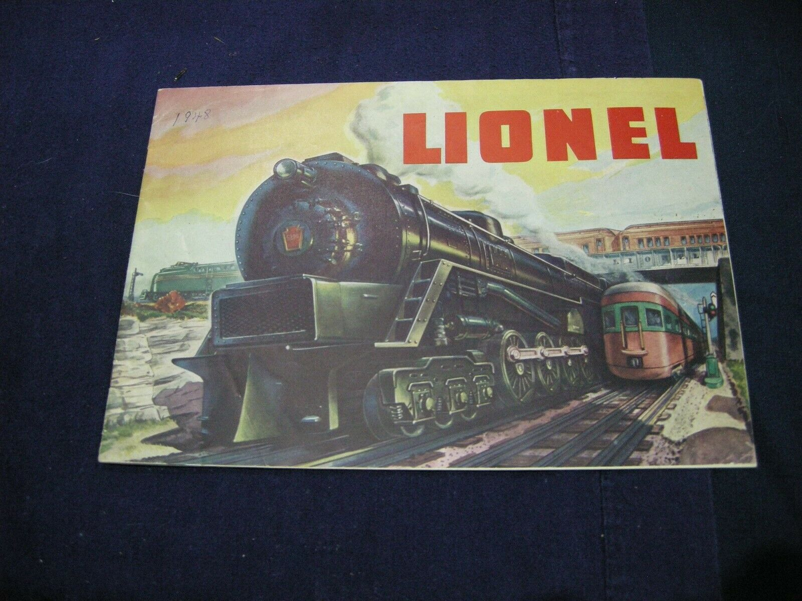 LIONEL CATALOG 1948 COMPLETE AS SHOWN