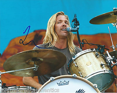 Rock & Pop Straightforward Foo Fighters Drummer Taylor Hawkins Hand Signed Authentic 8x10 Photo 4 W/coa Autographs-original