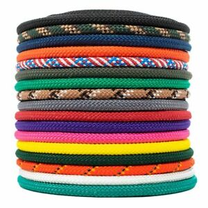 Golberg Diamond Braid Nylon Rope 100/% Nylon Utility Cord and Everyday Use Boating Ideal for Camping Outdoors Made in The USA