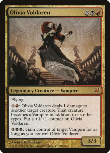 MR MTG X1: Olivia Voldaren FREE US SHIPPING! Moderate Play Innistrad
