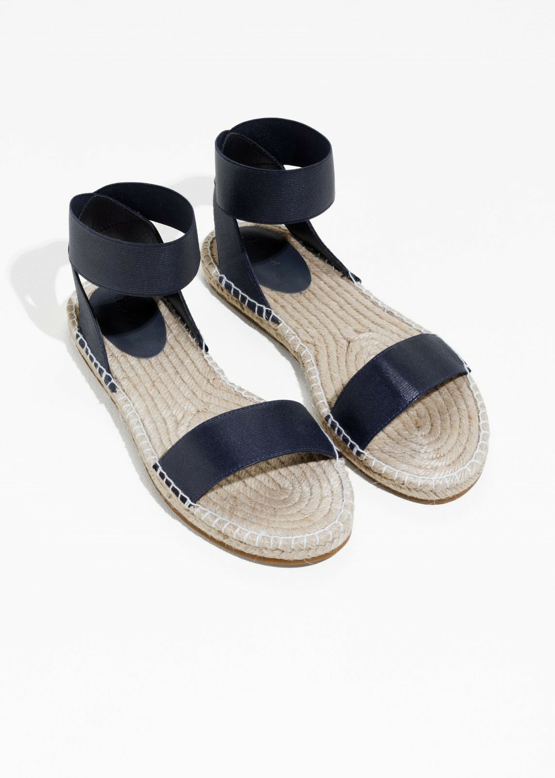 & Other Stories Two-Strap Sandals - Designed in Stockholm - Navy - EU 41