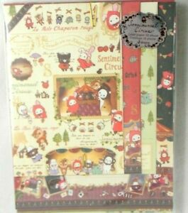 San-X Sentimental Circus Stationery Letter Set 32 sheets 16 envelopes from Japan