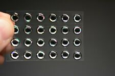 """24 FROG EYES 3D Soft Molded 1//4/""""  6mm Eyes Fly Tying Lures"""