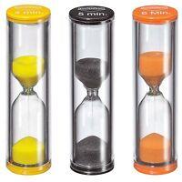 Kuchenprofi 4 5 6 Minute Egg Sand Timers, Assorted Set Of 3 on Sale