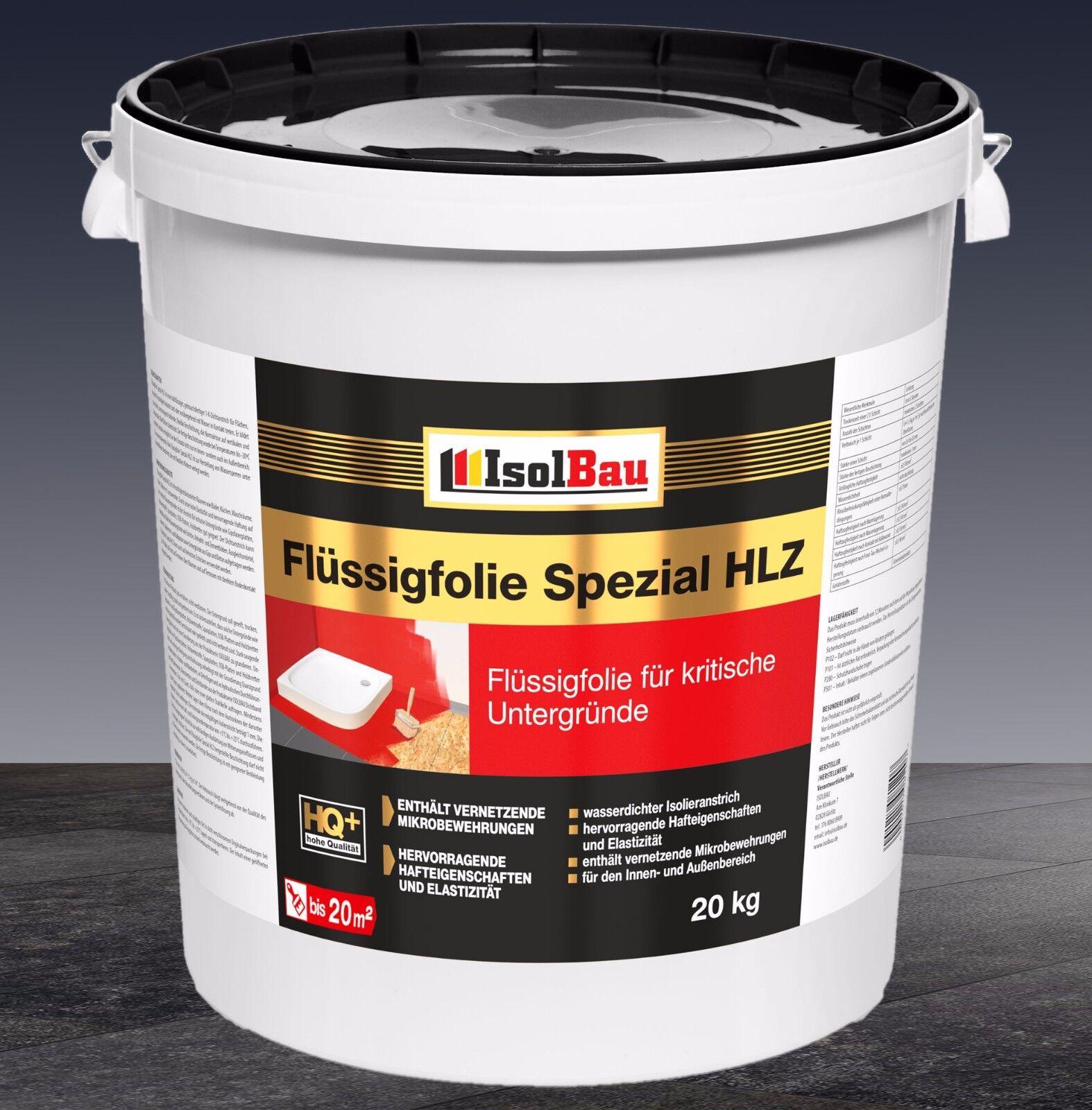 Flüssigfolie Spezial HLZ 20 kg  Dichtfolie Abdichtung Innen- und Außenbereich