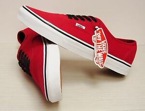10a4e8993f Image is loading Vans-Authentic-Chili-Pepper-Black-VN-0NJV2KA-Men-