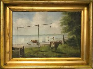 Johannes-Lange-COWS-AT-LAKE-SHORE