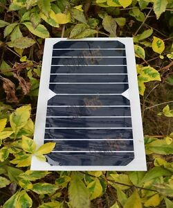 6v 6w flexible solar panel module board outdoor light lamp power image is loading 6v 6w flexible solar panel module board outdoor aloadofball Image collections