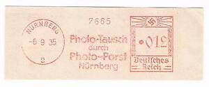 Photo Tausch durch Photo Porst Nürnberg 1935 AFS E 3 - Deutschland - Photo Tausch durch Photo Porst Nürnberg 1935 AFS E 3 - Deutschland
