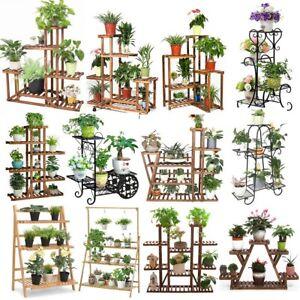 17-Style-Plant-Stand-Flower-Planter-Holder-Rack-Shelf-Windowsill-Corner-Outdoor