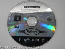 Jeu platinum EYE TOY PLAY 2 sur playstation 2 PS2 en loose francais pour enfant