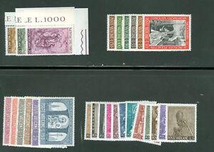 Vatican-City-1966-Compete-MNH-Year-Set