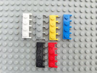 10x Lego Platte Träger 1x2 grün Clips Scharnier 7733 20015 4520671 60470