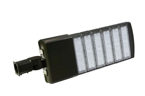 50//150//200//300W LED Parking Lot Light Shoebox Outdoor Pole Area Light DLC ETL