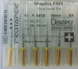 Dental-Dentsply-Rotary-ProTaper-Universal-Engine-NiTi-Files-19-mm-SX
