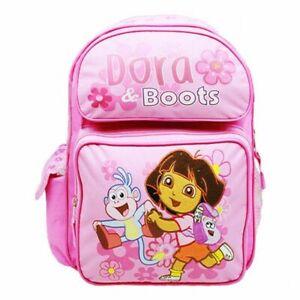 "Disney Princess School Backpack Floral 12/"" Medium Bag Pink girls Book Bag"
