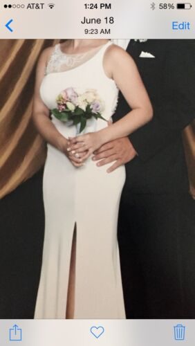 Ivory Prom gown