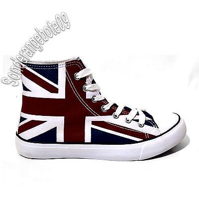 UNION JACK Schuhe UK Freizeitschuhe Turnschuhe Unionflag britain Sportschuh Herr