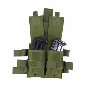 Tactical-Molle-Drop-Leg-Panel-Double-Mag-Pouch-Utility-Pouch-Bag