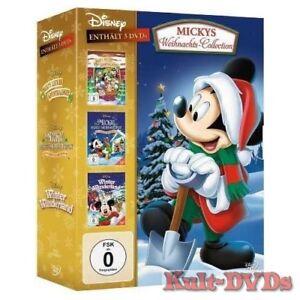 Micky-039-s-Adventskalender-grosses-Weihnachtsfest-Winter-Wunderland-3-DVD-Box-Neu