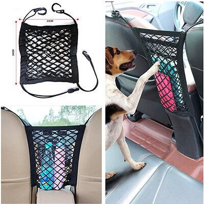 Car Auto Seat Storage Mesh//Organizer Cargo Net Hook Pouch Holder Pet Isolation