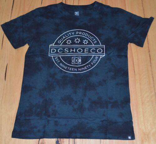 NEW SIZE 10 /& 16 YEARS DC Shoes  Boys Printed T Shirt GREYISH BLACK