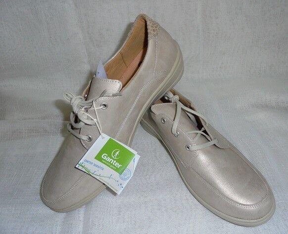Taille Taille Taille 7 40,5 Chaussures Femmes Chaussures Chaussure Lacée Cuir diabétiques rhumatisme Ganter Largeur H caba80