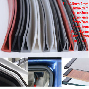 0-5mm-13mm-Rubber-U-Channel-Edging-Trim-Seal-Edge-Protection-From-Metal-House