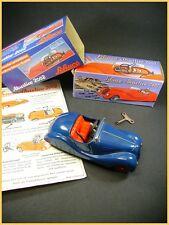 SCHUCO AKUSTICO 2002 REPLICA WINDUP CAR BLUE  BMW  voiture a clef + boite