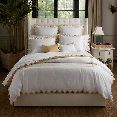 Brillant Matouk Aziza Queen Angepasst 17 Zoll Tasche Bettwaren, -wäsche & Matratzen Honig