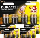 Duracell Plus Power Battery AA Lr6 5 3