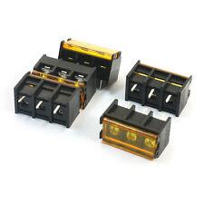 2Position 2Pin 4Pcs  HB9500 9.5mm Screw New Terminal Barrier Blocks 300V 30A